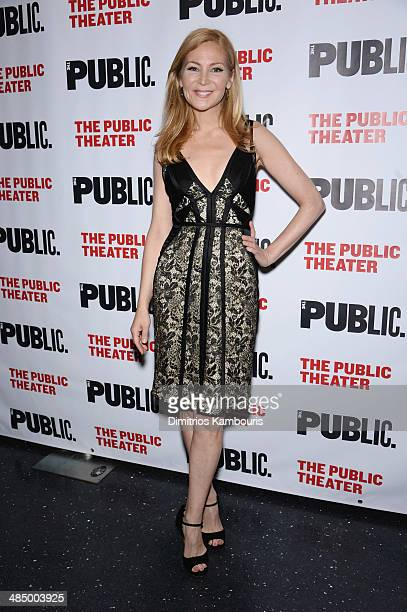 Actress Jennifer Westfeldt attends The Library opening night celebration at The Public Theater on April 15 2014 in New York City