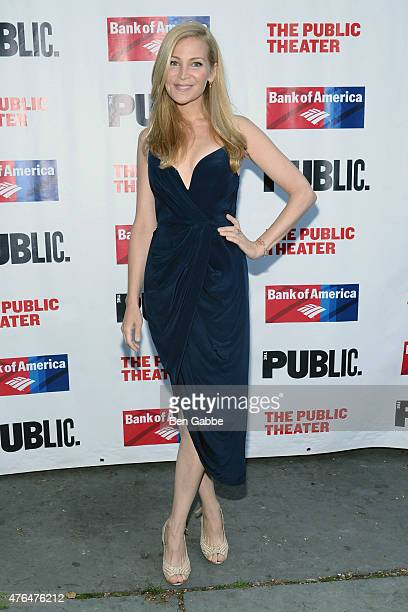 Actress Jennifer Westfeldt attends The Public Theater's Annual Gala at Delacorte Theater on June 9 2015 in New York City