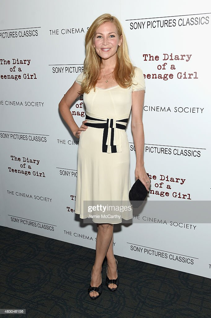 Actress Jennifer Westfeldt attends the screening of Sony Pictures Classics 'The Diary Of A Teenage Girl' hosted by The Cinema Society at Landmark Sunshine Cinema on August 5, 2015 in New York City.