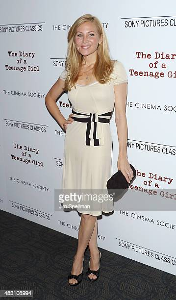 Actress Jennifer Westfeldt attends the Sony Pictures Classics with The Cinema Society host a screening of The Diary Of A Teenage Girl at Landmark's...