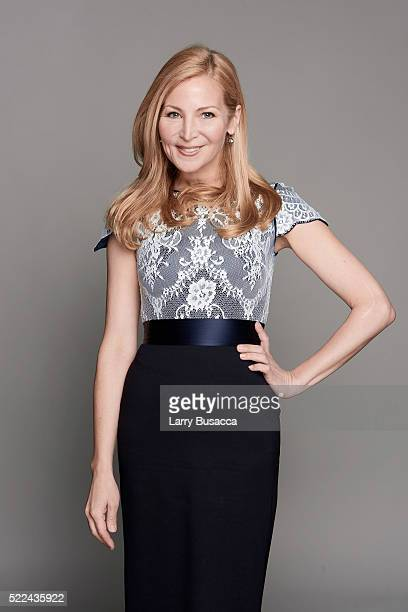 Actress Jennifer Westfeldt poses for a portrait during the Juror Welcome Lunch at the 2016 Tribeca Film Festival on April 14 2016 in New York City