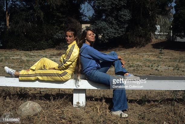 Actress Jenny Agutter Actress Jayne Seymour pose for a portrait in circa 1985 in Los Angeles, California.