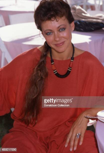 Actress Jenny Agutter poses for a portrait session in Los Angeles California in circa 1984