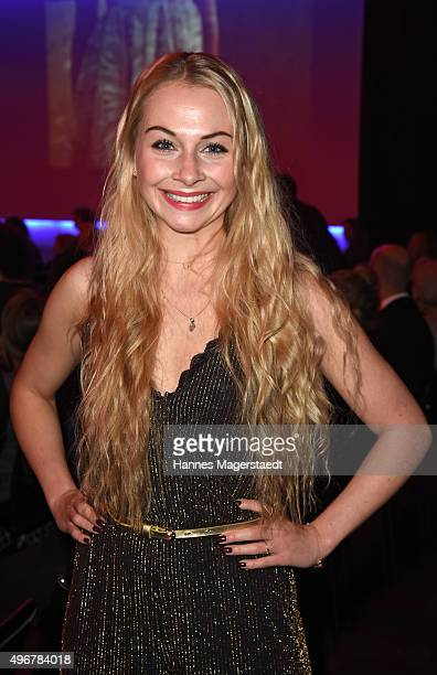 Actress Jenny Bach during the 'Marcel Ostertag Charity Fashion Show 2015' at Sofitel Munich Bayerpost on November 11 2015 in Munich Germany
