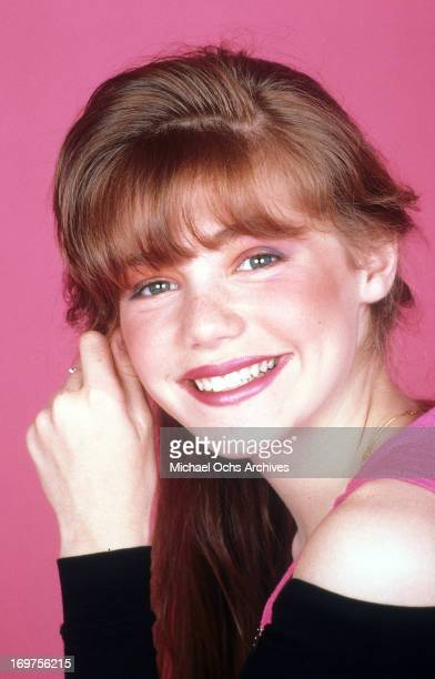 Actress Jenny Lewis poses for a portrait in circa 1989