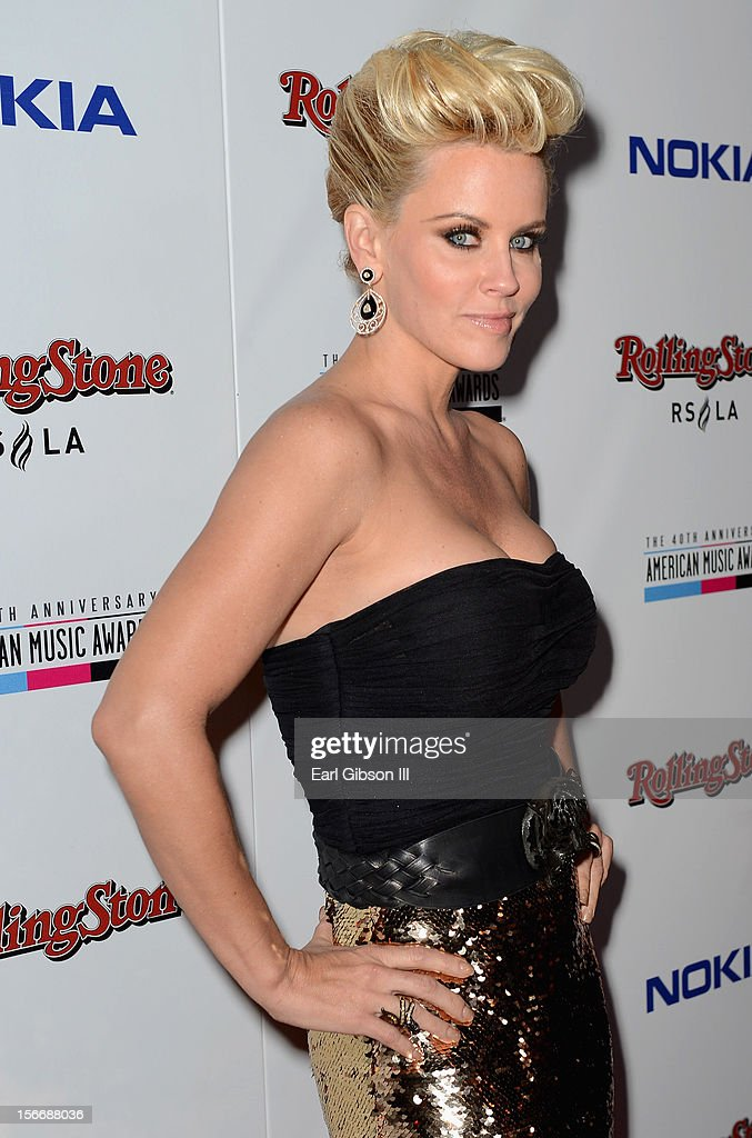 Actress Jenny McCarthy arrives at Rolling Stone Magazine Official 2012 American Music Awards VIP After Party presented by Nokia and Rdio at Rolling Stone Restaurant And Lounge on November 18, 2012 in Los Angeles, California.