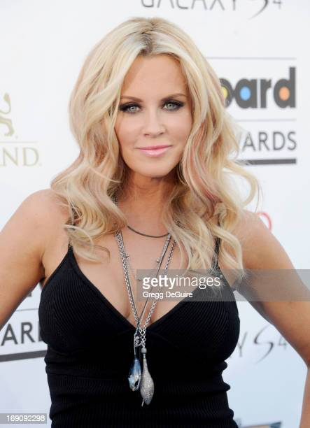 Actress Jenny McCarthy arrives at the 2013 Billboard Music Awards at MGM Grand Garden Arena on May 19 2013 in Las Vegas Nevada