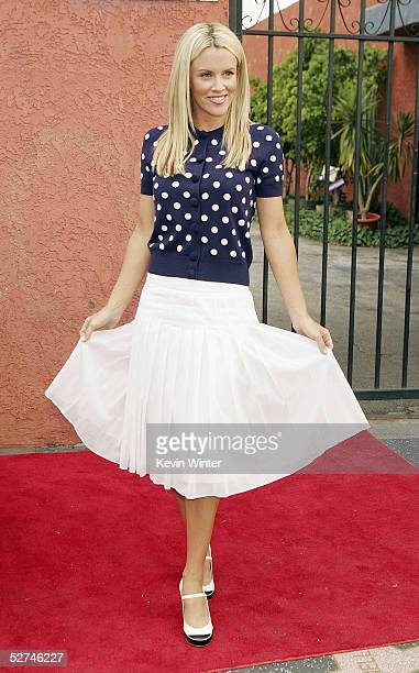 Actress Jenny McCarthy arrives at the 7th Annual Young Hollywood Awards at the Music Box/Henry Fonda Theater on May 1 2005 in Los Angeles California