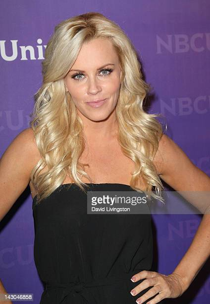 Actress Jenny McCarthy attends the NBCUniversal summer press day held at The Langham Huntington Hotel and Spa on April 18 2012 in Pasadena California