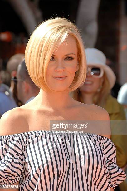Actress Jenny McCarthy attends the premiere of 20th Century Fox's Horton Hears A Who at the Mann Village March 8 2008 in Westwood California