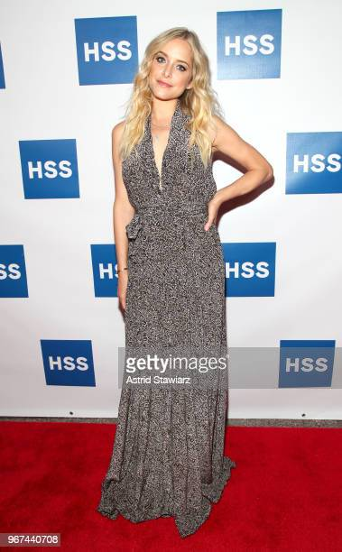 Actress Jenny Mollen attends The Hospital for Special Surgery 35th Tribute Dinner at the American Museum of Natural History on June 4 2018 in New...