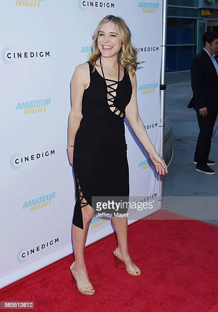 Actress Jenny Mollen attends the premiere of Cinedigm's 'Amateur Night' at ArcLight Cinemas on July 25 2016 in Hollywood California