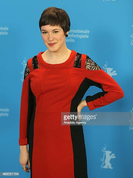 Actress Jenny Schily attends the 'Dora or The Sexual Neuroses of Our Parents' photocall during the 65th Berlinale International Film Festival at...