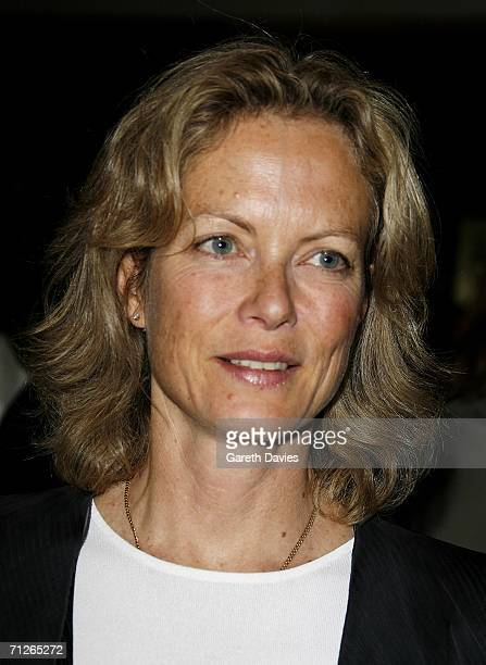 Actress Jenny Seagrove attend the Evita press night at the Adelphi Theatre on June 21 2006 in London England Michael Grandage directs the West End...