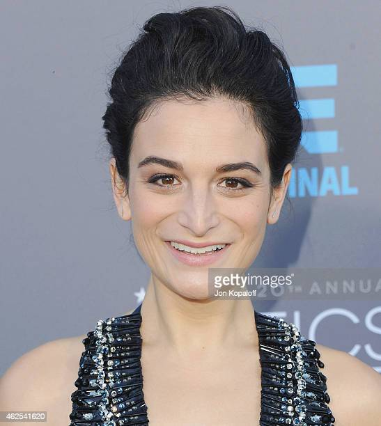 Actress Jenny Slate arrives at the 20th Annual Critics' Choice Movie Awards at Hollywood Palladium on January 15 2015 in Los Angeles California