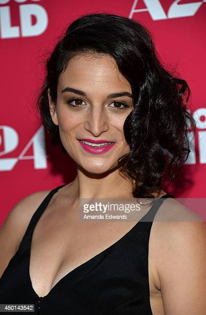 Actress Jenny Slate arrives at the Los Angeles special screening of A24's 'Obvious Child' at the ArcLight Hollywood on June 5 2014 in Hollywood...