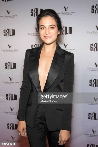 Actress Jenny Slate arrives at the opening night screening of Landslide at 60th San Francisco International Film Festival in Castro Theater on April...