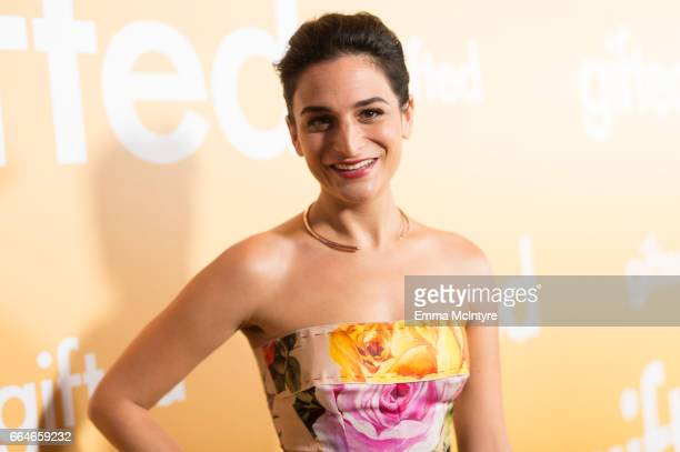 Actress Jenny Slate arrives at the premiere of Fox Searchlight Pictures' 'Gifted' at Pacific Theaters at the Grove on April 4, 2017 in Los Angeles,...