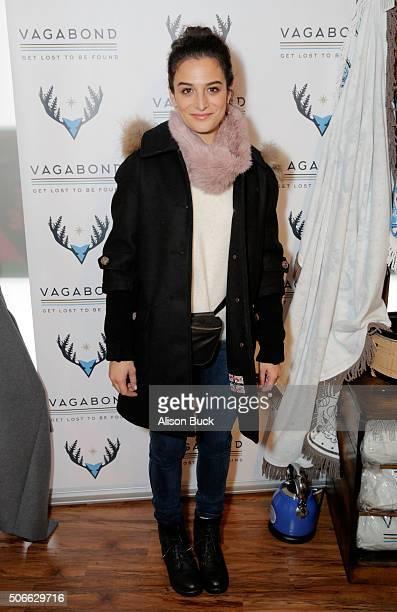 Actress Jenny Slate attends Kari Feinstein's Style Lounge on January 24 2016 in Park City Utah