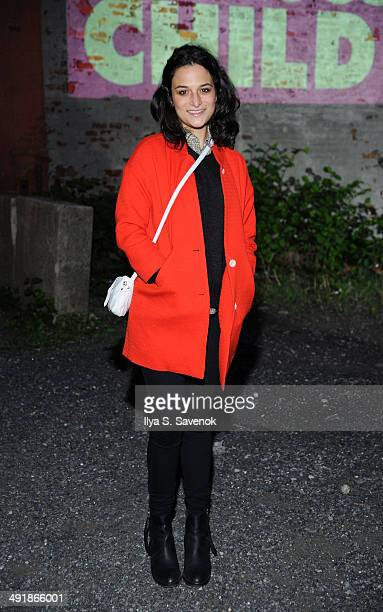 Actress Jenny Slate attends Rooftop Films screening of 'The Obvious Child' on May 17 2014 in New York United States