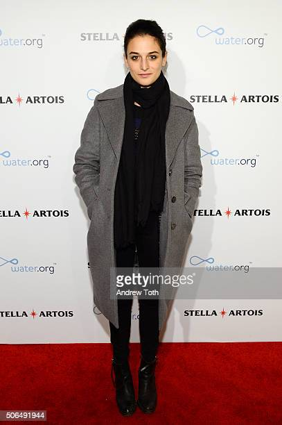 Actress Jenny Slate attends Stella Artois Filmmaker Lounge presents 'Joshy' supper on January 23 2016 in Park City Utah