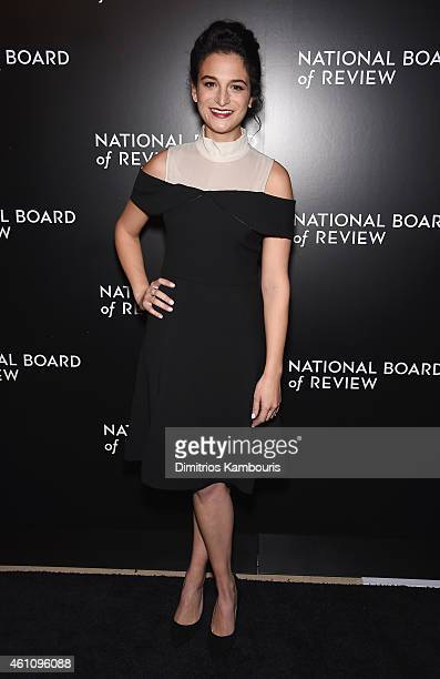 Actress Jenny Slate attends the 2014 National Board of Review Gala at Cipriani 42nd Street on January 6 2015 in New York City