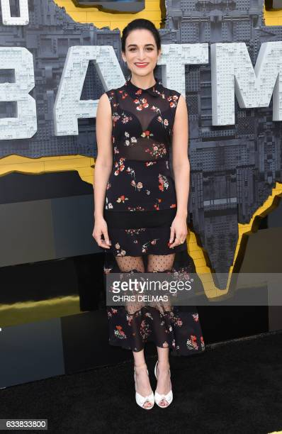 Actress Jenny Slate attends the Los Angeles premiere of The Lego Batman Movie at the Regency Village Theatre in Westwood California on February 4...