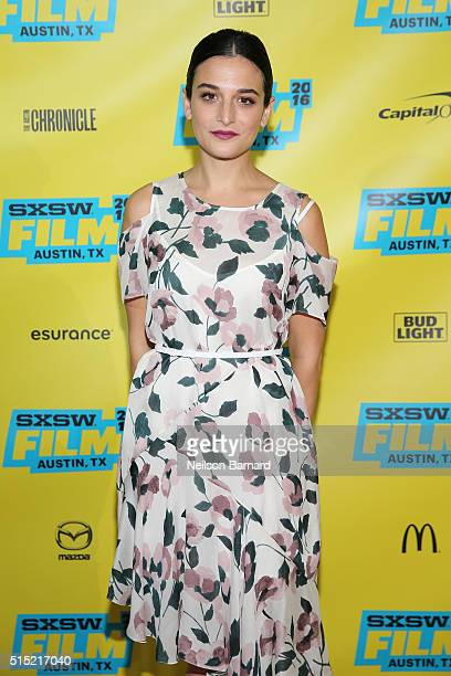 Actress Jenny Slate attends the 'My Blind Brother' premiere during the 2016 SXSW Music Film Interactive Festival at Topfer Theatre at ZACH on March...