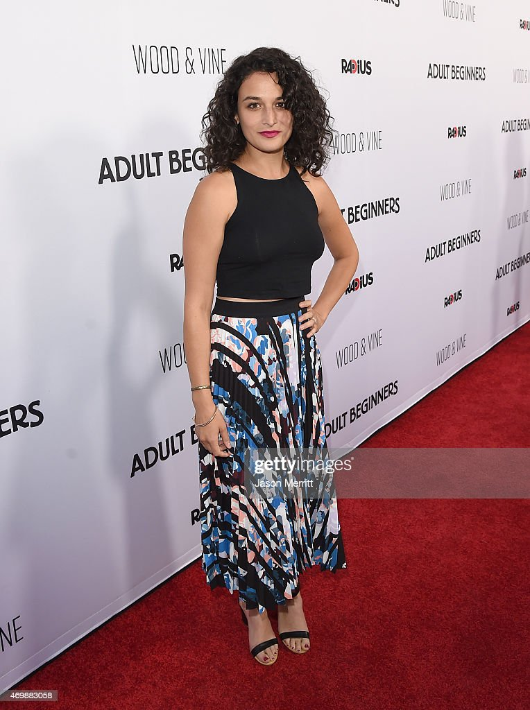 Actress Jenny Slate attends the premiere of 'Adult Beginners' at ArcLight Hollywood on April 15, 2015 in Hollywood, California.