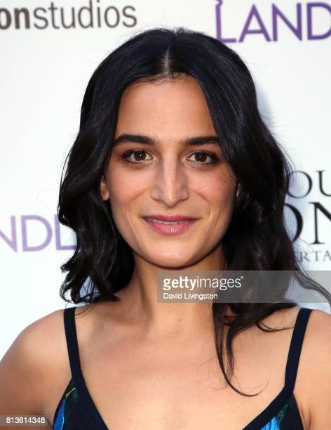 "Actress Jenny Slate attends the premiere of Amazon Studios' ""Landline"" at ArcLight Hollywood on July 12, 2017 in Hollywood, California."