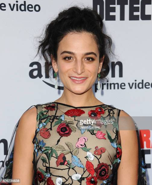 """Actress Jenny Slate attends the premiere of """"Comrade Detective"""" at ArcLight Hollywood on August 3, 2017 in Hollywood, California."""