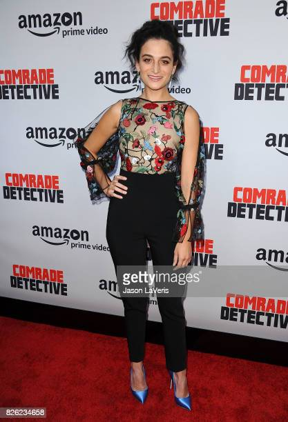 Actress Jenny Slate attends the premiere of 'Comrade Detective' at ArcLight Hollywood on August 3 2017 in Hollywood California