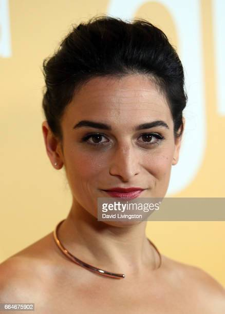 Actress Jenny Slate attends the premiere of Fox Searchlight Pictures' 'Gifted' at Pacific Theaters at The Grove on April 4 2017 in Los Angeles...