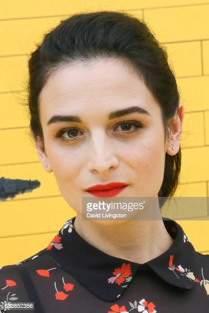 Actress Jenny Slate attends the Premiere of Warner Bros Pictures' The LEGO Batman Movie at the Regency Village Theatre on February 4 2017 in Westwood...