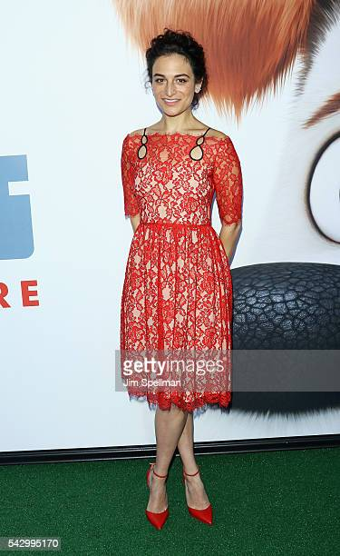 Actress Jenny Slate attends the 'Secret Life Of Pets' New York premiere on June 25 2016 in New York City