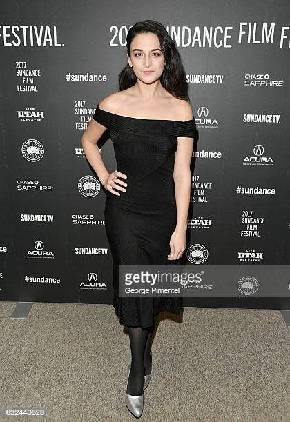 Actress Jenny Slate attends the 'The Polka King' Premiere on day 4 of the 2017 Sundance Film Festival at Eccles Center Theatre on January 22 2017 in...