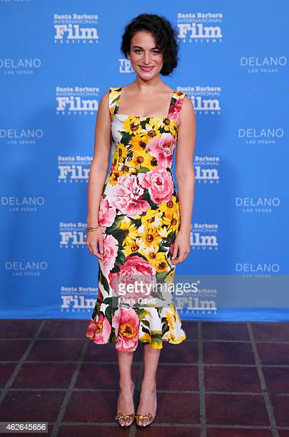 Actress Jenny Slate attends the Virtuosos Award at the 30th Santa Barbara International Film Festival at the Arlington Theater on February 1 2015 in...