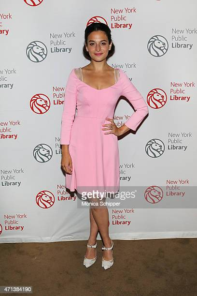 Actress Jenny Slate attends the Young Lions Fiction Award Benefit at New York Public Library on April 27 2015 in New York City