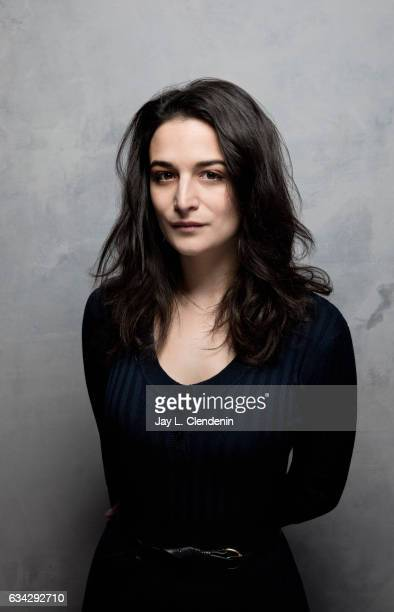 Actress Jenny Slate from the film The Polka King is photographed at the 2017 Sundance Film Festival for Los Angeles Times on January 22 2017 in Park...