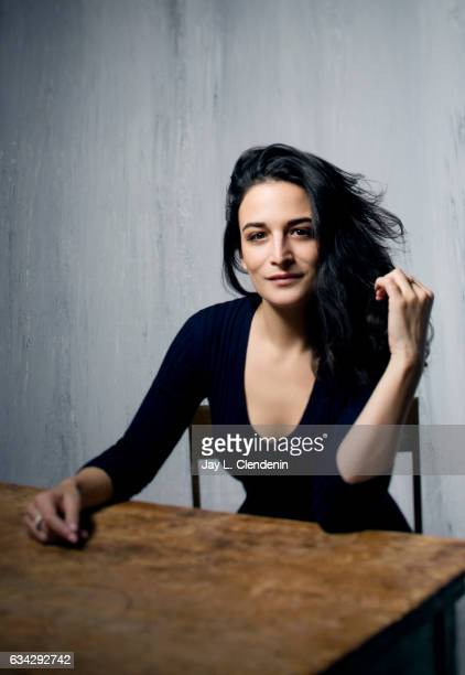 Actress Jenny Slate, from the film The Polka King, is photographed at the 2017 Sundance Film Festival for Los Angeles Times on January 22, 2017 in...