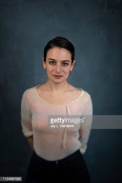 Actress Jenny Slate from 'The Sunlit Night' is photographed for Los Angeles Times on January 27 2019 at the 2019 Sundance Film Festival in Salt Lake...