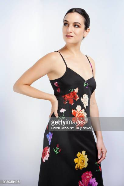 Actress Jenny Slate is photographed for NY Daily News on April 21 2017 at the Tribeca Film Festival in New York City CREDIT MUST READ Derek Reed/NY...
