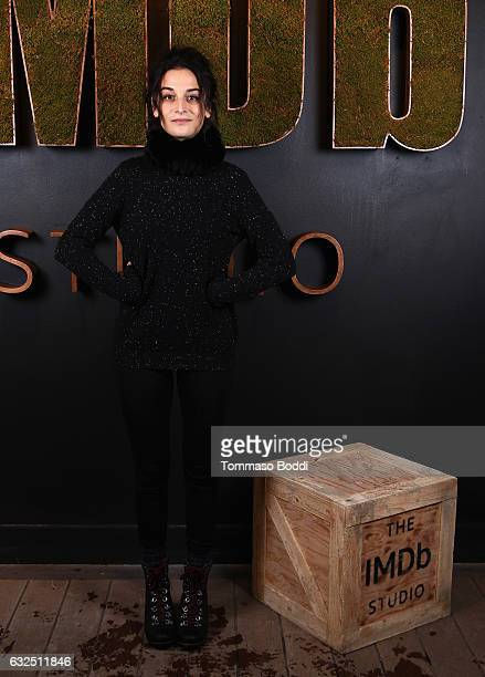 Actress Jenny Slate of 'Landline' attends The IMDb Studio featuring the Filmmaker Discovery Lounge presented by Amazon Video Direct Day Four during...