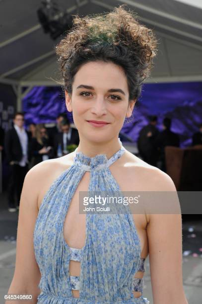 Actress Jenny Slate visits the Jeep tent at the 2017 Film Independent Spirit Awards sponsored by Jeep at Santa Monica Pier on February 25, 2017 in...