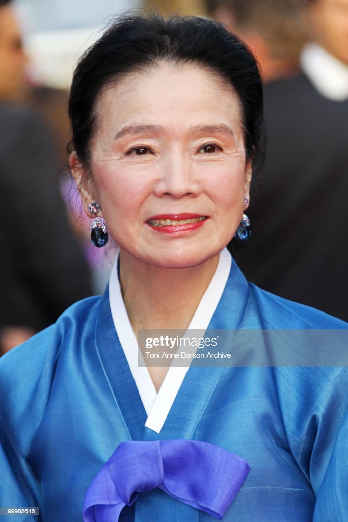 Actress Jeong-hee Yoon attends the premiere of 'Poetry' held at the Palais des Festivals during the 63rd Annual International Cannes Film Festival on May 19, 2010 in Cannes, France.