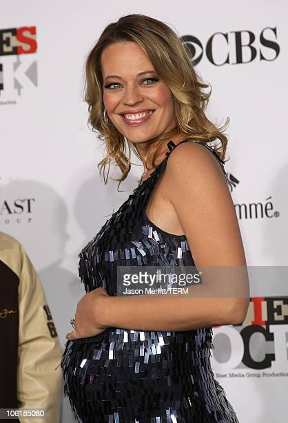 Actress Jeri Ryan arrives at Conde Nast Media Group's 2007 Movies Rock at the Kodak Theatre on December 2 2007 in Hollywood California
