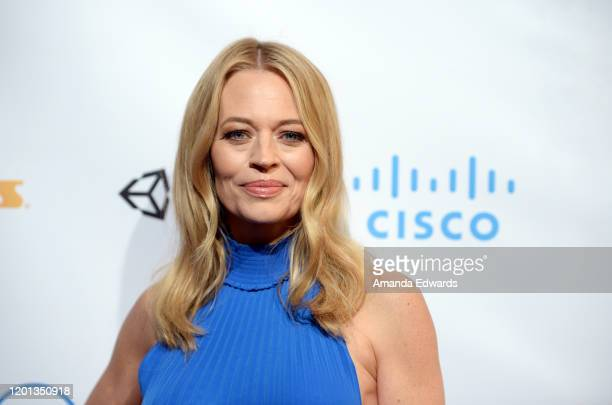 Actress Jeri Ryan arrives at the 11th Annual Lumiere Awards at the Stephen J Ross Theatre on The Warner Bros Lot on January 22 2020 in Burbank...