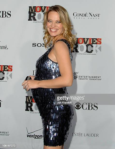 Actress Jeri Ryan arrives at the Conde Nast Media Group Presents 2007 Movies Rock at the Kodak Theatre on December 2 2007 in Hollywood California