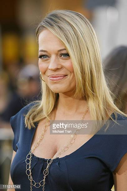 Actress Jeri Ryan arrives at the Los Angeles Premiere of 'Bee Movie' held at the Mann Bruin Theatre on October 28 2007 in Westwood California