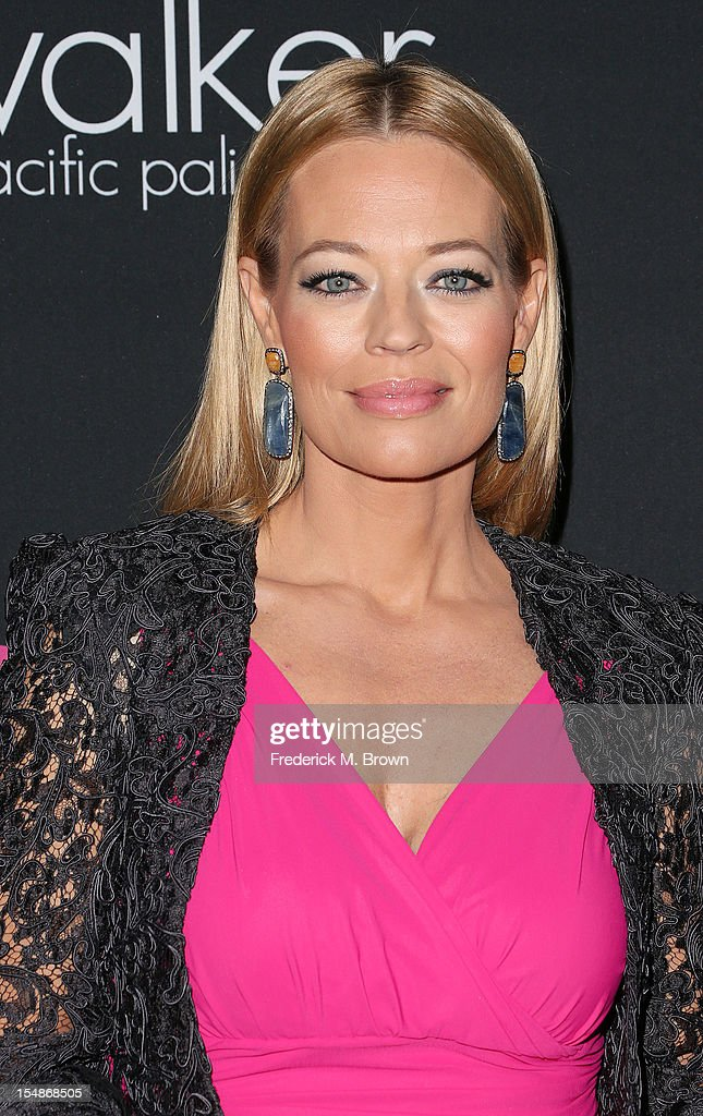 Actress Jeri Ryan attends Elyse Walker Presents The Eighth Annual Pink Party Hosted By Michelle Pfeiffer To Benefit Cedars-Sinai Women's Cancer Program at Barkar Hangar Santa Monica Airport on October 27, 2012 in Santa Monica, California.